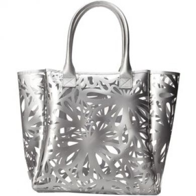 Daisy Printed Jelly Large Tote