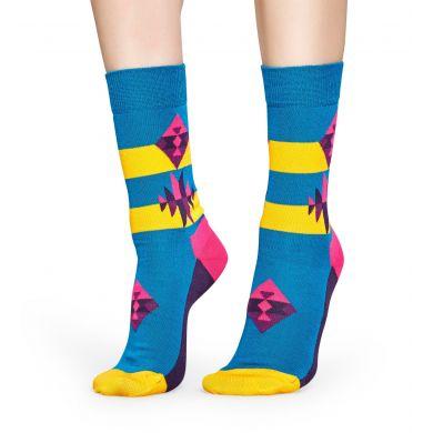 Barevné ponožky Happy Socks se vzorem Inca - 2010 // 10 YEARS ANNIVERSARY