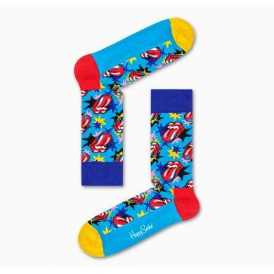 Dárkový box ponožek Happy Socks x Rolling Stones - 6 párů