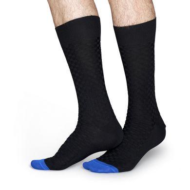 Tmavě šedé ponožky Happy Socks // kolekce Dressed