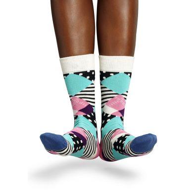 Barevné ponožky Happy Socks se vzorem Multi