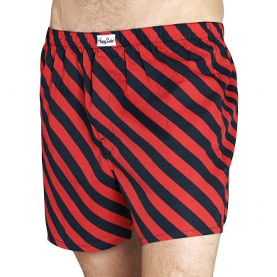 Polka Mens Boxer - Red