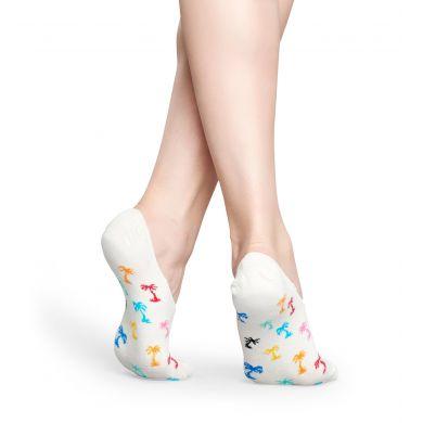 Nízké vykrojené ponožky Happy Socks s barevným vzorem Palm Beach