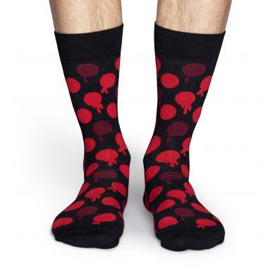 Černo-červené ponožky Happy Socks Blood Dot // Kolekce Robert Rodriguez