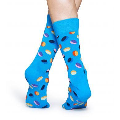 Tyrkysové ponožky Happy Socks s barevným vzorem Pills