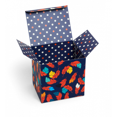 Gift Box Feather