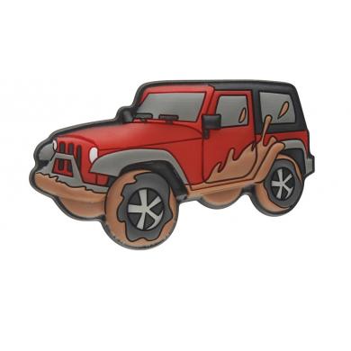 Muddy Off Road Vehicle