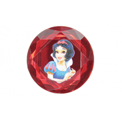 Snow White Printed Rhinestone