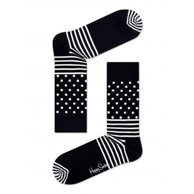Dárková krabička Happy Socks Black and White, unisex