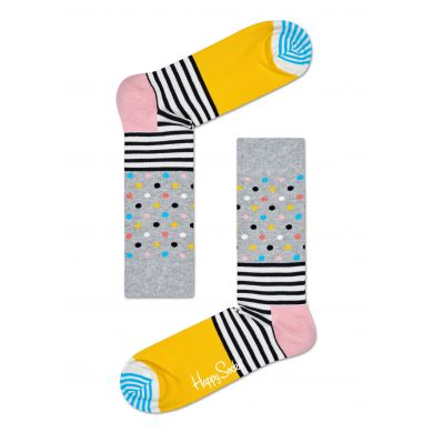Barevné ponožky Happy Socks se vzorem Stripes and Dots