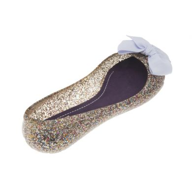 Jelly Ballerina in Glitter Multi