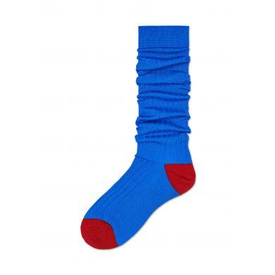 Dámské modré ponožky Happy Socks Cilla // kolekce Hysteria