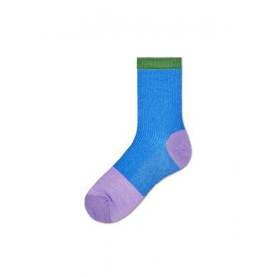 Dámské modré ponožky Happy Socks Janni // kolekce Hysteria