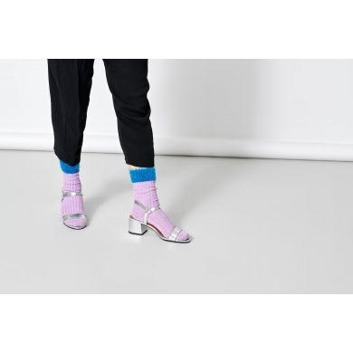 Dámské fialové ponožky Happy Socks Judit // kolekce Hysteria