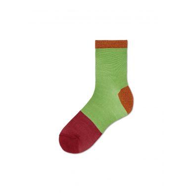 Dámské zeleno-černé ponožky Happy Socks Liza // kolekce Hysteria