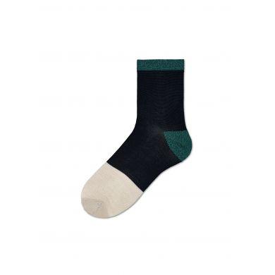 Dámské černé ponožky Happy Socks Liza // kolekce Hysteria