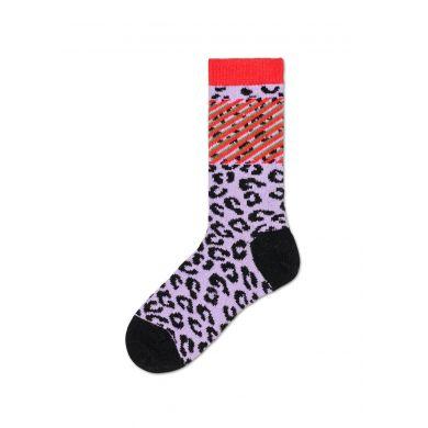 Dámské červené ponožky Happy Socks Lulu // kolekce Hysteria