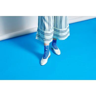Dámské fialové ponožky Happy Socks Mia  // kolekce Hysteria
