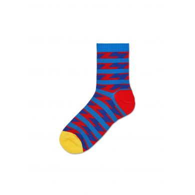 Dámské červené ponožky Happy Socks Ray  // kolekce Hysteria