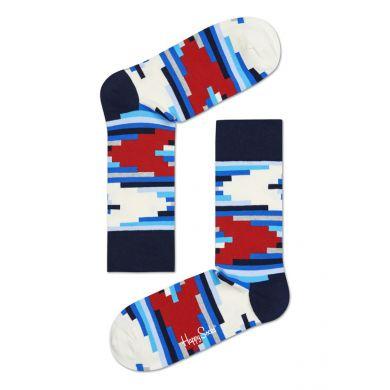 Barevné ponožky Happy Socks se vzorem Stripe Off