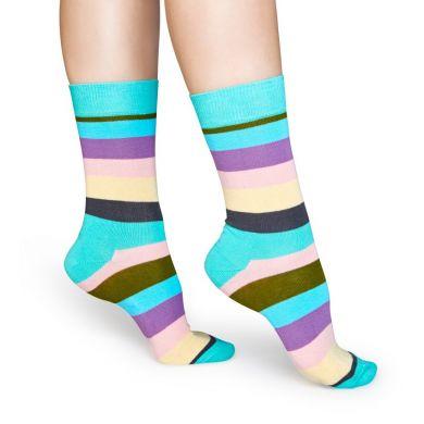 Dárkový box ponožek Happy Socks Stripes - 4 páry