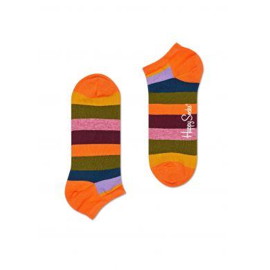 Nízké pruhované ponožky Happy Socks, vzor Stripe