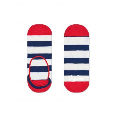 Nízké vykojené pruhované ponožky Happy Socks, vzor Stripe
