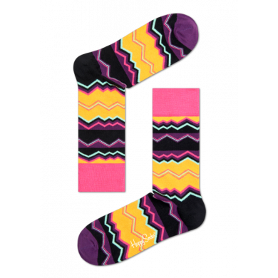 Barevné ponožky Happy Socks se vzorem Techno