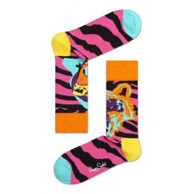 Barevné ponožky Happy Socks se vzorem Tiger/Gorilla
