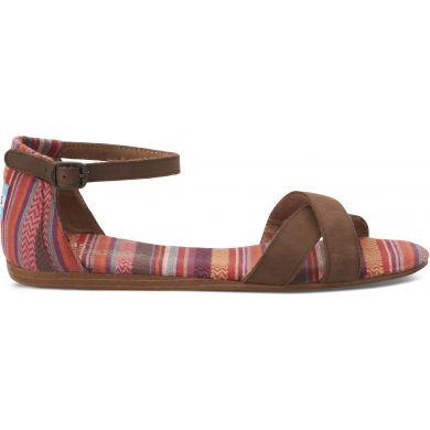 Barevné dámské sandálky TOMS Stripes Mix