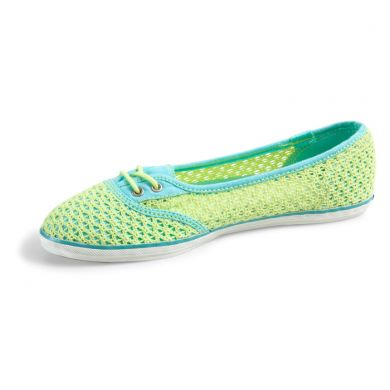 Too Cute Woven Crochet lime