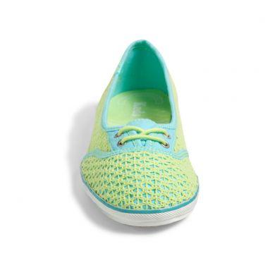 Too Cute Woven Crochet lime