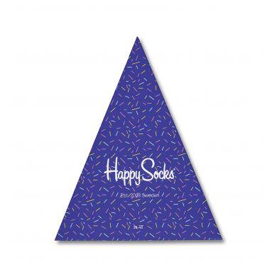 Dárková krabička Happy Socks - Happy Birthday, tři páry