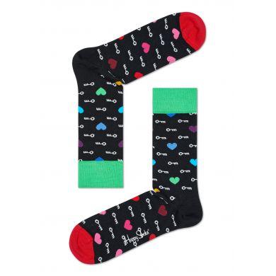 Dárková krabička Happy Socks - I love you, tři páry