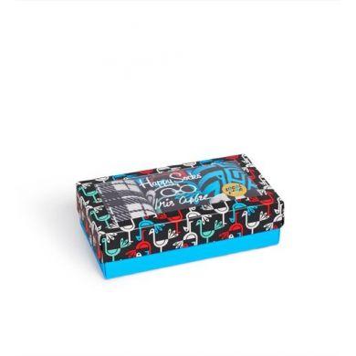 Dárkový box ponožek Happy Socks Iris Apfel - 3 páry