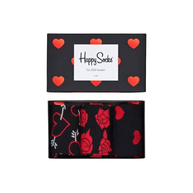 Dárkový box ponožek Happy Socks Valentine - 3 páry