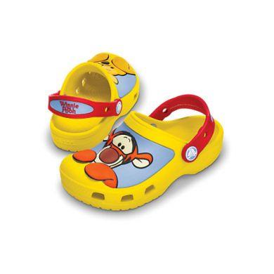 Winnie the Pooh and Tigger Custom Clog