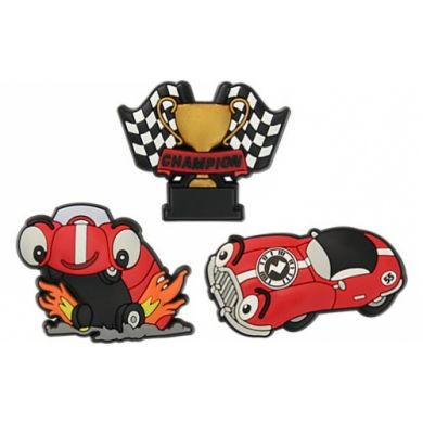 ZAP Race Car 3pc Pk F14 - Card