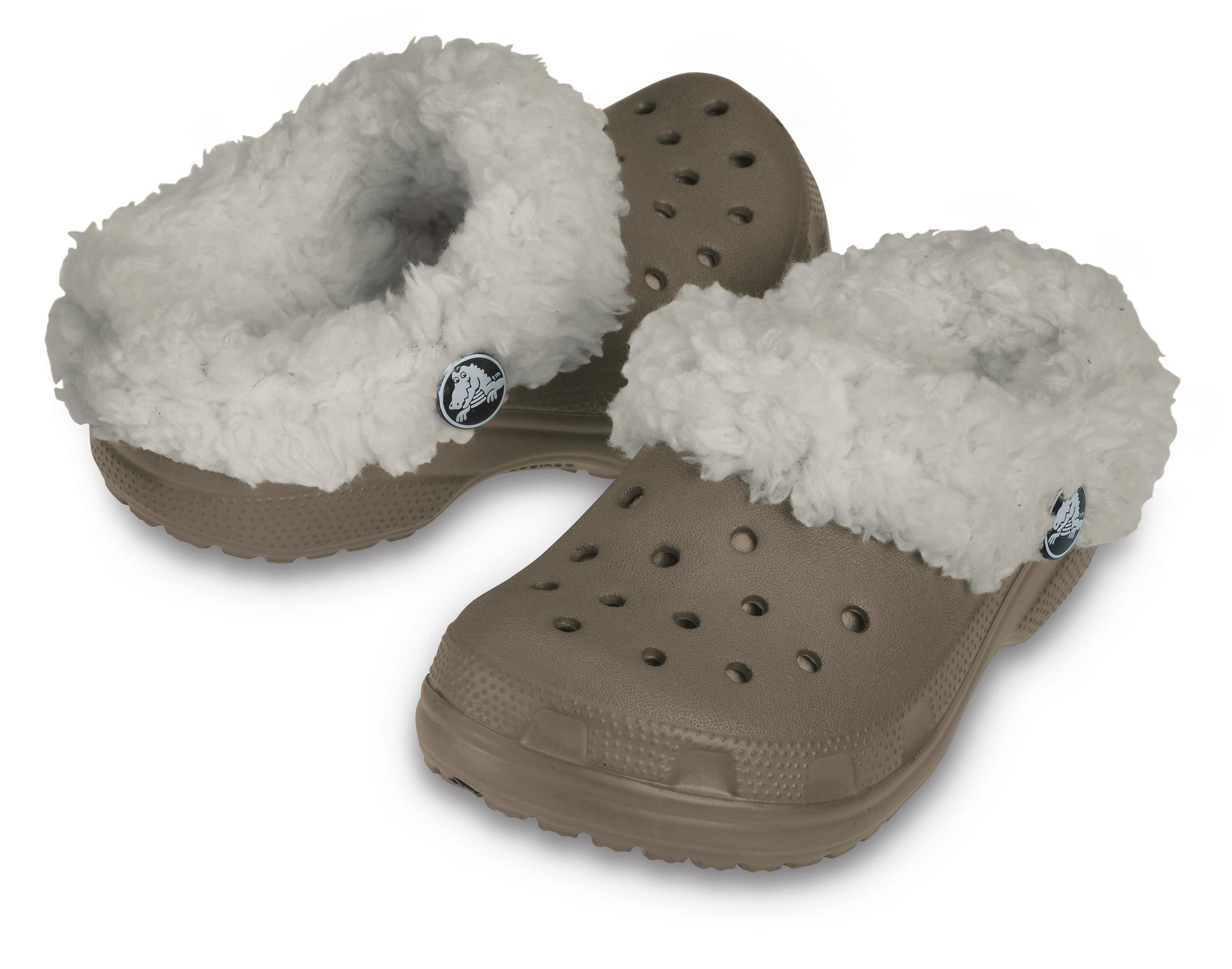 Crocs Kids Mammoth Khaki-Oatmeal C6-C7