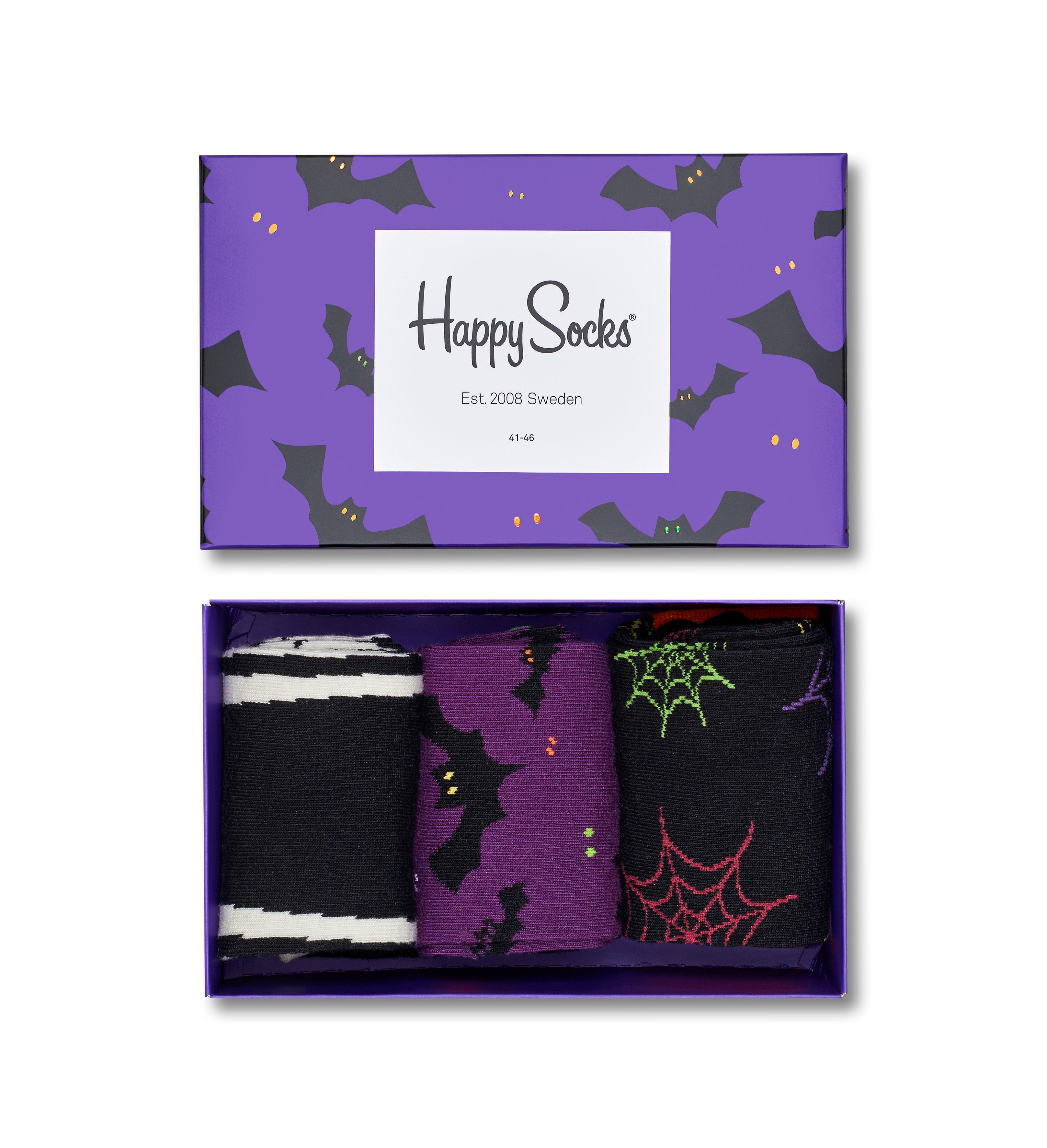 Dárková krabička Happy Socks Halloween 1, unisex - S-M (36-40)