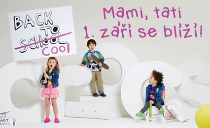 Be cool and go back to school stylově!