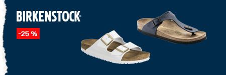 Birkenstock - sleva 25 %